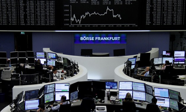 The German share price index, DAX board, is seen at the stock exchange in Frankfurt, Germany, October 24, 2017. REUTERS/Staff/Remote