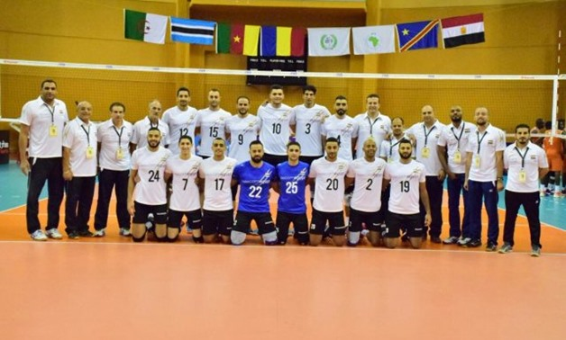 Egyptian national volleyball team– Press image courtesy file photo