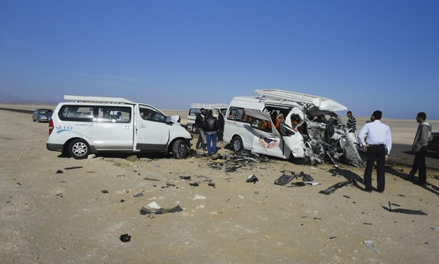 15 killed, injured in 2 car accidents in Qalyubia - File Photo