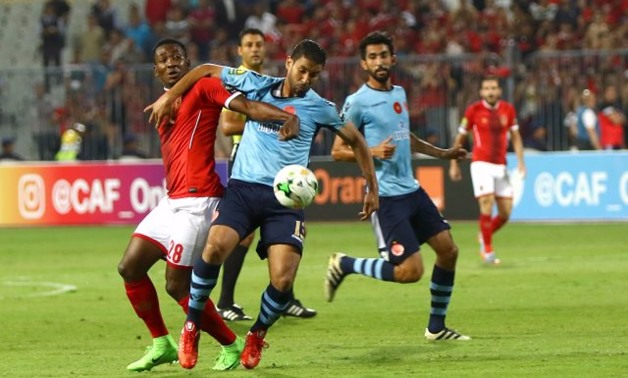 Al Ahly vs Wydad Athletic in group stage of CAF Champions League 206/2017, Filephoto from superkora.football