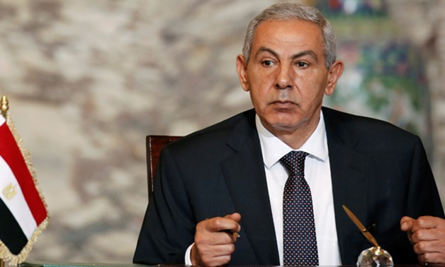 Egypt's Minister of Trade and Industry Tareq Kabil - Archive