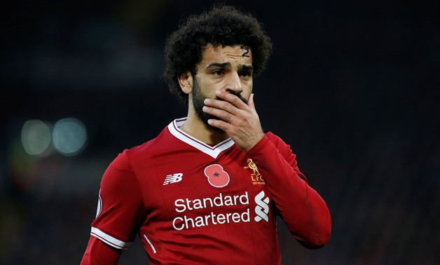 Liverpool's Mohamed Salah looks dejected after having his penalty saved Action Images - Reuters/Craig Brough