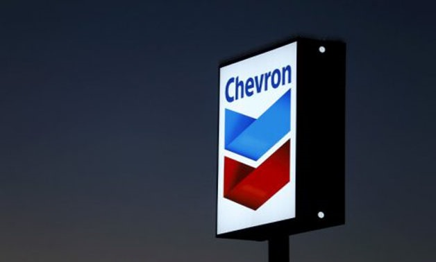 A Chevron gas station sign is shown in Cardiff, California, in this January 25, 2016 photo - REUTERS/Mike Blake/File Photo