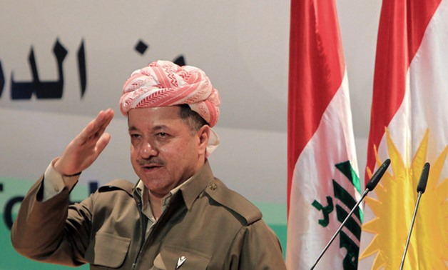 Masoud Barzani, the president of the Kurdistan Regional Government. AFP