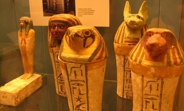 Egyptian Artifacts at the British Museum - Creative Commons - photo by David Woo via flickr