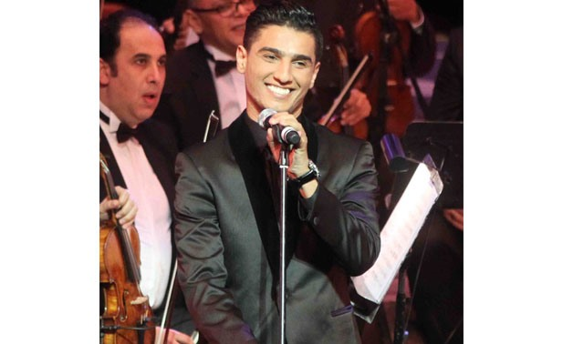 Mohammed Assaf [Photo Courtesy: Cairo Opera House Media Office]