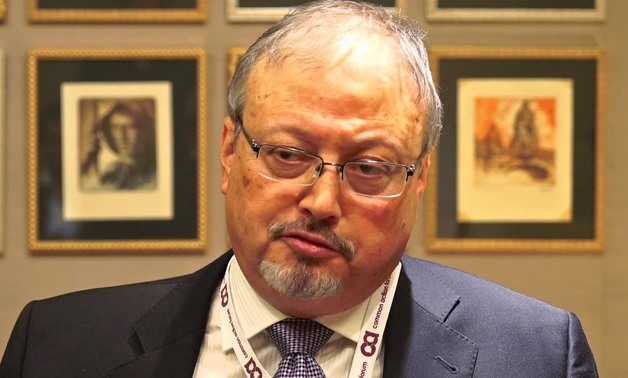 Jamal Khashoggi in an interview at CAF 2015 annual Forum - YouTube/