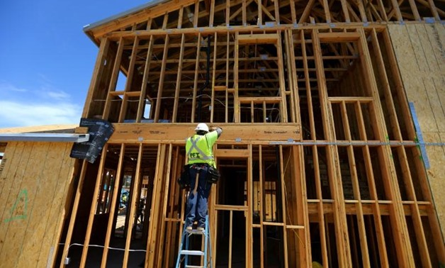 Single family homes being built by KB Homes are shown under construction in San Diego, California, U.S., April 17, 2017. REUTERS/Mike Blake
