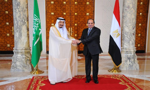 Saudi King Salman bin Abdulaziz (left) and Egyptian President Abdel Fattah al-Sisi signed a slew of multi-billion-dollar investment deals - AFP Photo/STRINGER