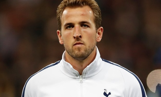 Tottenham's Harry Kane before the match Action Images via - Reuters