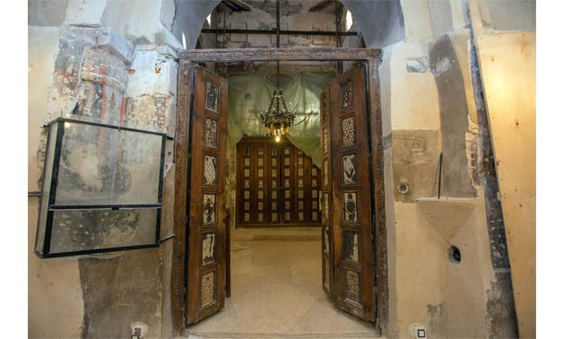 The Door of Prophecies at el-Suryan Monastery in Wadi el-Natrun – Ahmed Hindy
