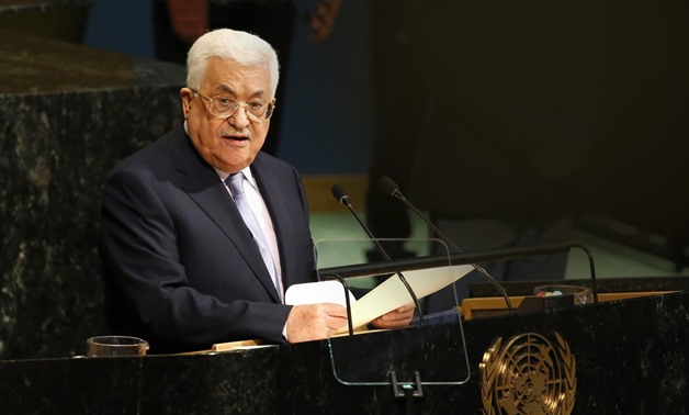 FILE: Mahmoud Abbas