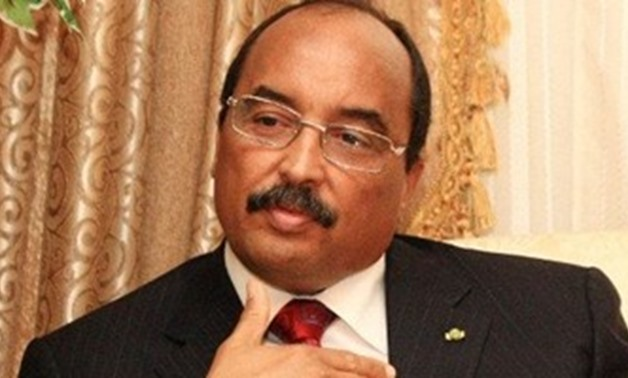 Photo of Mauritanian President Mohamed Ould Abdel Aziz -
