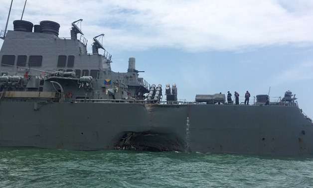 U.S. Navy orders back-to-basics reforms after deadly collisions - Press Photo