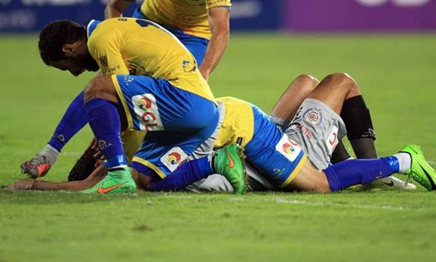 Ismaily players celebrate the second goal - Twitter