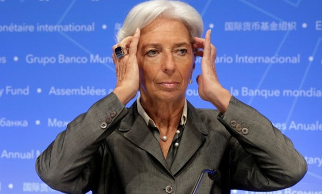 International Monetary Fund (IMF) Managing Director Christine Lagarde attends a news conference - REUTERS