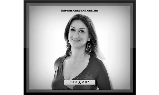 In memory of Daphne Caruana Galizia - International Day to End Impunity for Crimes againt Journalists.