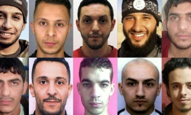 Among the 10 jihadists who wreaked havoc on the French capital on November 13, 2015, the only survivor is Salah Abdeslam (top row, second left), who is refusing to talk to investigators
