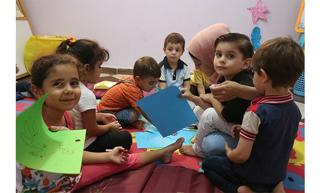 Children at Beyout Amena project - Egypt Today/Yasmine Hassan