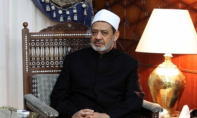 FILE- Al Azhar Grand Imam Ahmed el Tayyeb