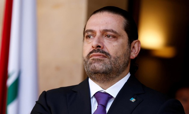 Lebanon's Prime Minister Saad al-Hariri is seen at the governmental palace in Beirut, Lebanon October 24, 2017 - REUTERS/Mohamed Azakir