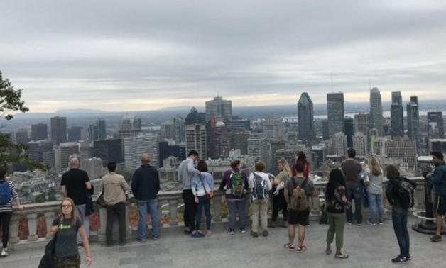 © Daniel Slim, AFP | General view of the City of Montreal in Quebec, Canada, taken on October 7, 2010, from the top of Mount Royal.