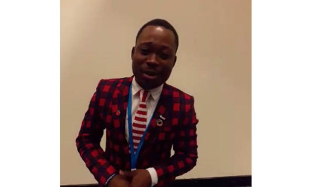 One of international guests at WYF Lanre Shaper – By Egypt Today