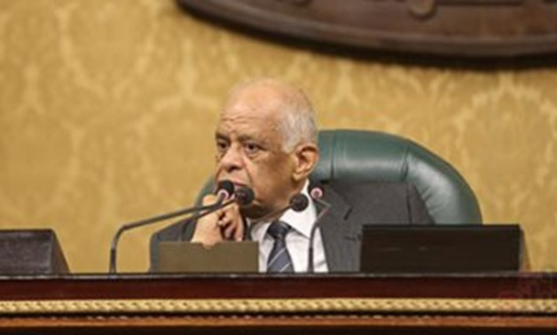 FILE: Egyptian House Speaker, Ali Abdel Aal
