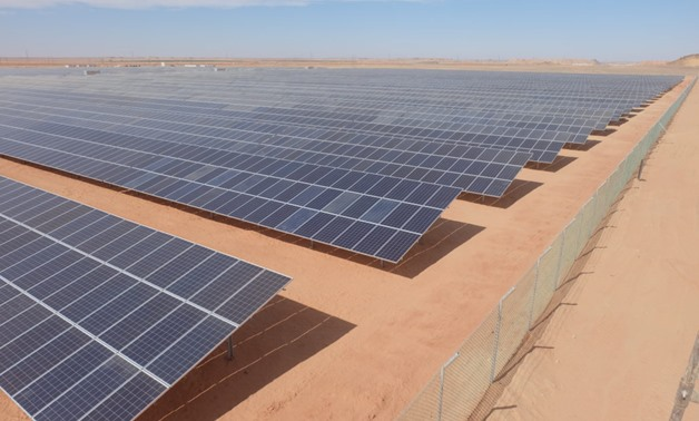 Toshka solar plant- Photo courtesy of Complete Energy Solutions website