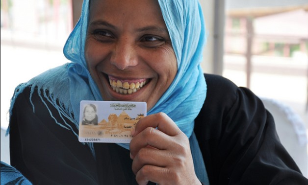 Your National ID card ... Your Rights project by the National Women's Council- Press photo