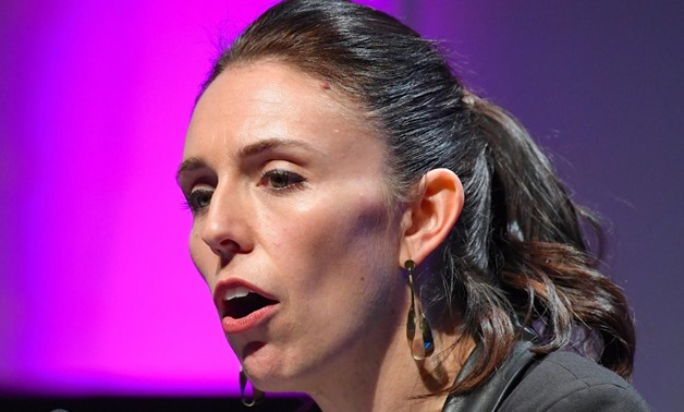 FILE PHOTO: Jacinda Ardern, speaks during an event in Wellington, New Zealand August 23, 2017. REUTERS/Ross Setford