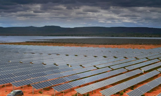 The EDF Energies Nouvelles solar plant in Pirapora, Minas Gerais state, Brazil, will be Latin America's largest solar power facility when it is fully operational in 2018