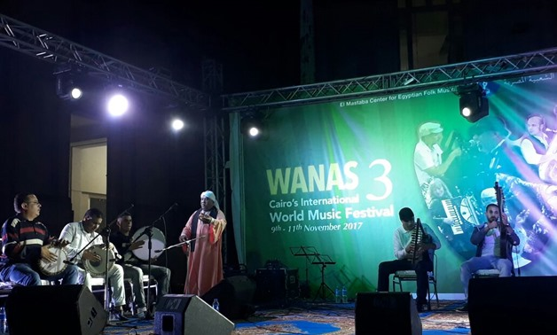 El Tanboura Band performs at third edition of Wanas Festival-by Egypt Today