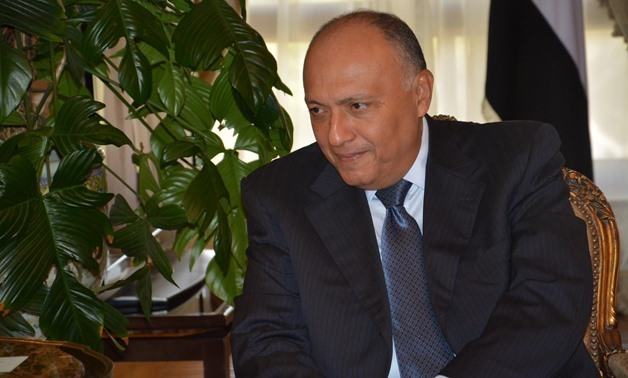 FILE: Minister of Foreign Affairs Sameh Shoukry