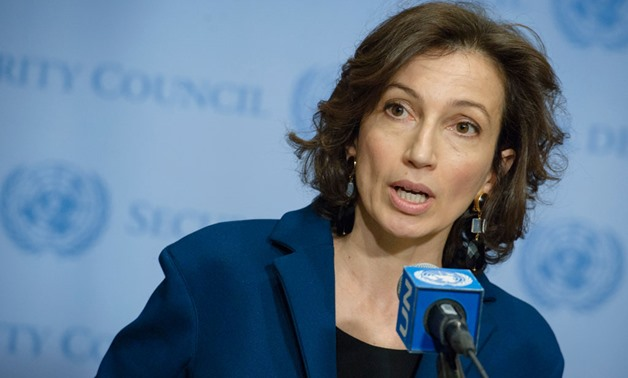 Audrey Azoulay of France, Director-General-elect of the UN Educational, Scientific and Cultural Organization (March 2017). UN Photo/Manuel Elias