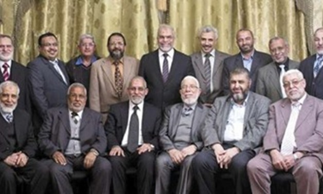The leaders of the outlawed Muslim Brotherhood – File Photo