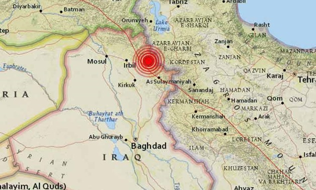 powerful quake Iraq
