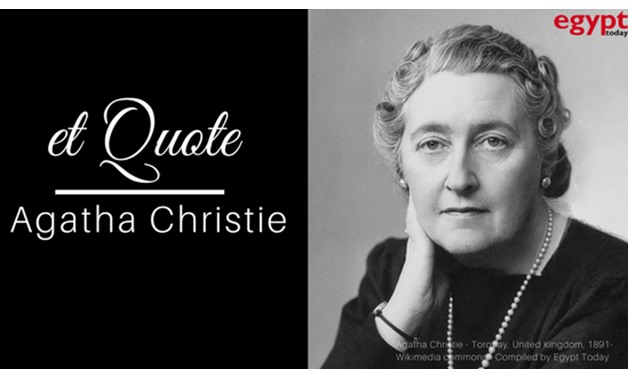 Agatha Christie - Torquay, United Kingdom, 1891- Wikimedia commons - Compiled by Egypt Today