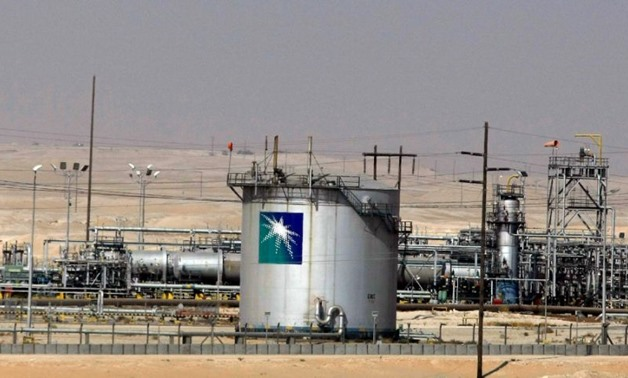 "Saudi oil giant Aramco said it had resumed operations at its Bahrain pipeline, days after it was shut down over a fire which Manama called a ""terrorist"" act (AFP Photo/HASSAN AMMAR)"