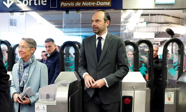 French Prime Minister Edouard Philippe - REUTERS