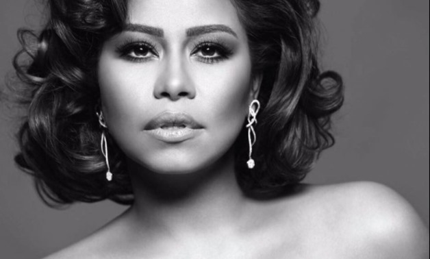 Egyptian singer Sherine Abdelwahab - official facebook page