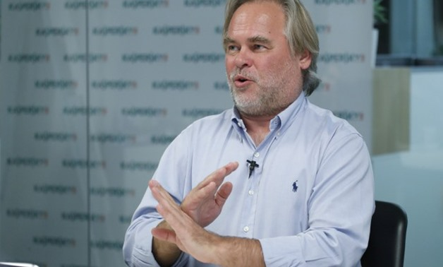 Kaspersky, Chief Executive of Russia's Kaspersky Lab, speaks during an interview in Moscow - REUTERS