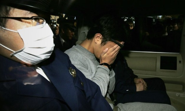 Takahiro Shiraishi is suspected of luring his victims via social media - AFP