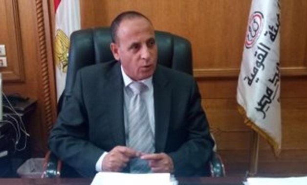 File : Head of the Egyptian Railway Authority, Sayed Salem