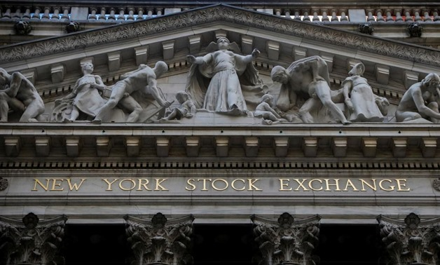 The front facade of the New York Stock Exchange (NYSE) is seen in New York, U.S., November 17, 2017. REUTERS/Brendan McDermid