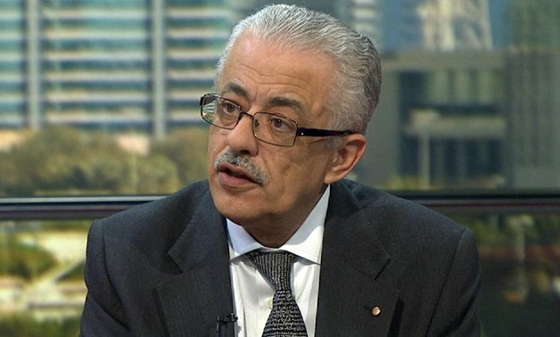 Minister of Education and Technical Training Tarek Shawki – Still image Youtube/MBC Masr
