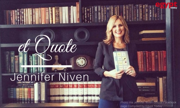 Photo Via Jennifer Niven official Facebook page Compiled by Egypt Today