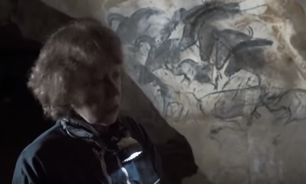 Pristine artwork of human hands dating back to over 30,000 at Chauvet cave – Still from YouTube
