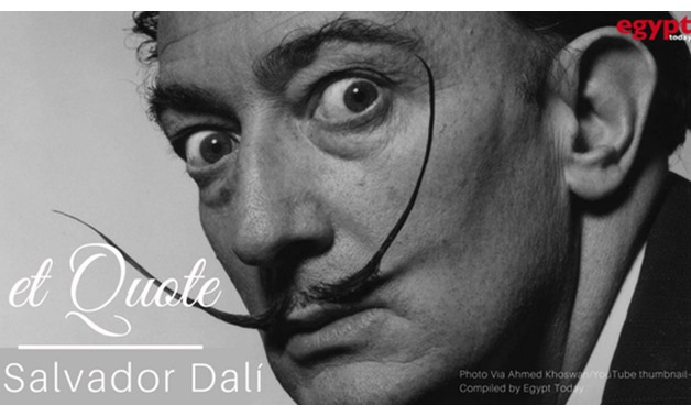 Brilliant Spanish surrealist Salvador Dali - Ahmed Khoswan/YouTube thumbnail l– Compiled by Egypt Today