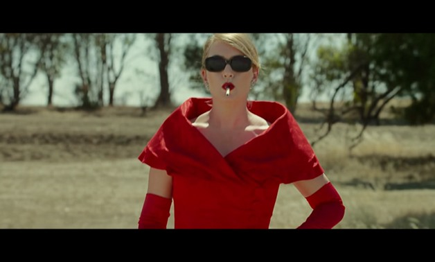 Screencap of Kate Winslet as Tilly Dunnage, the lead character of 'The Dressmaker'. Courtesy of 'Movieclips Trailers' YouTube Channel.
